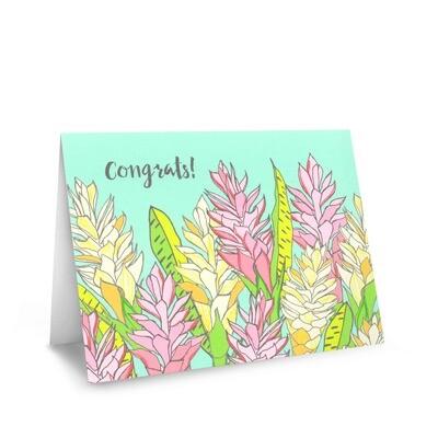 Card, Congrats - Ginger (Nicomade)