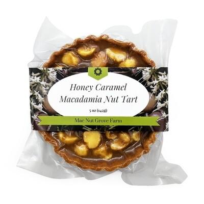 Hawaii Tart Company, Honey Caramel Macadamia Nut Tart