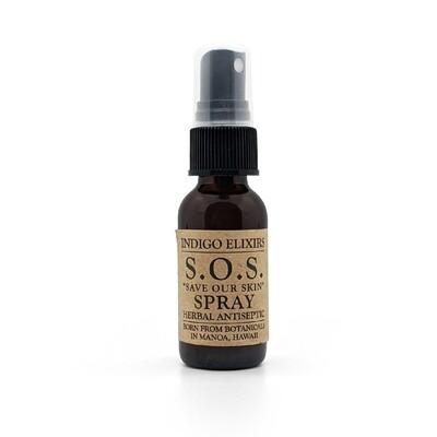 Indigo Elixirs, S.O.S. Herbal Antiseptic (1 Oz.)