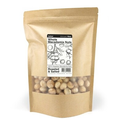 Macadamia Nuts, The Locavore Store - Salted (16 Oz.)
