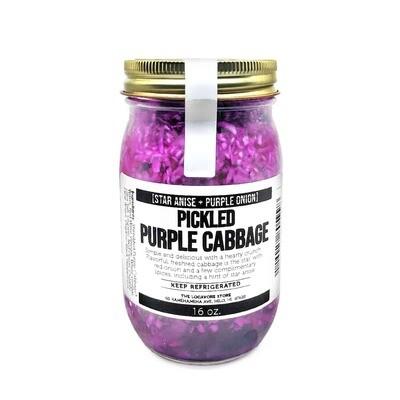 Pickles, Purple Cabbage (16 Oz.)