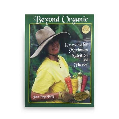 Books, Beyond Organic - by Jana Bogs (Softcover)