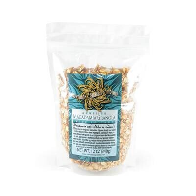 Kipimana, Coconut Macadamia Nut Granola (12 Oz.)