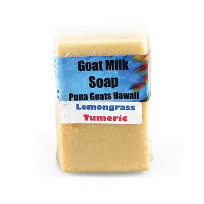 Lava Rock Goat Dairy, Lemongrass Turmeric Soap Bar (4 Oz.)