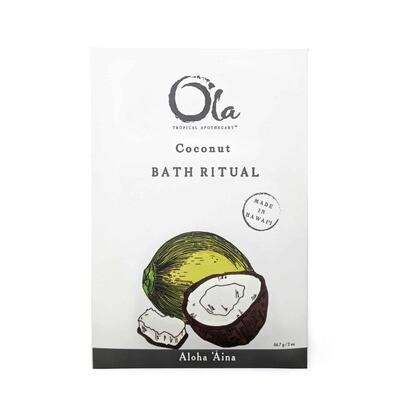 Ola Tropical Apothecary, Bath Ritual - Coconut (2 Oz.)