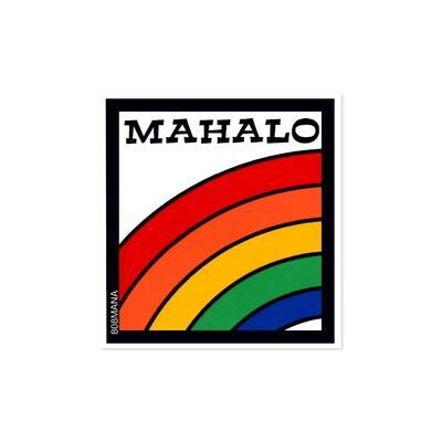 Sticker, 808 Mana - Mahalo Rainbow (Small)