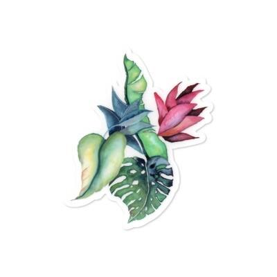 Sticker, Ashley Kaase - Botanical Medley Die Cut Vinyl Sticker