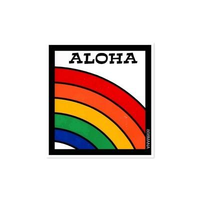 Sticker, 808 Mana - Aloha Rainbow (Small)