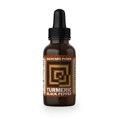 Backyard Pharm, Turmeric Extract (1 Oz.)