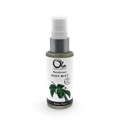 Ola Tropical Apothecary, Body Mist - Rainforest (2 Oz.)