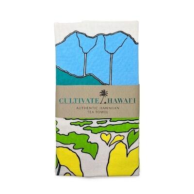 Tea Towel, Cultivate Hawaii - Kalo