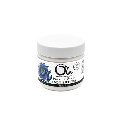 Ola Tropical Apothecary, Body Butter - Passion Fruit (2 Oz.)