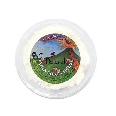 Cheese, Lava Rock Dairy - Chevre Natural (5 Oz.)