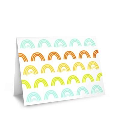 Card, Aloha - Rad Rainbow (Nicomade)