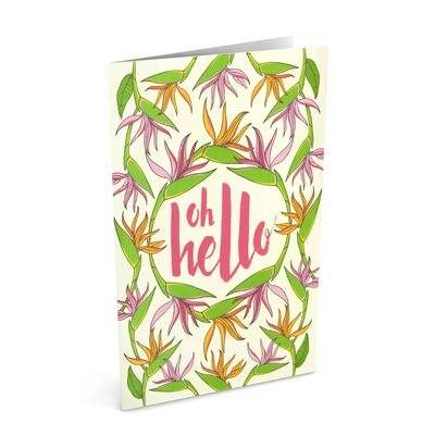 Card, Any Occasion - Oh Hello (Nicomade)