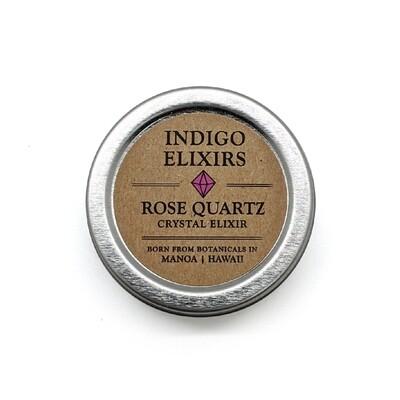 Indigo Elixirs, Rose Quartz Crystal Elixir (1 Oz.)