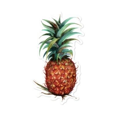 Sticker, Ashley Kaase - Pineapple Die Cut Vinyl Sticker