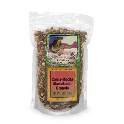 Kipimana, Cinnimon Mocha Macadamia Nut Granola (12 Oz.)