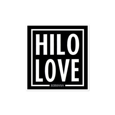 Sticker, 808 Mana - Hilo Love (Small)