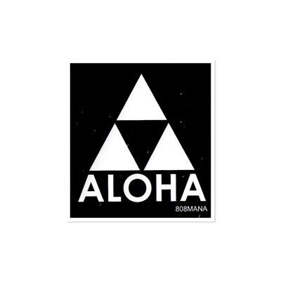 Sticker, 808 Mana - Aloha Triangle (Small)