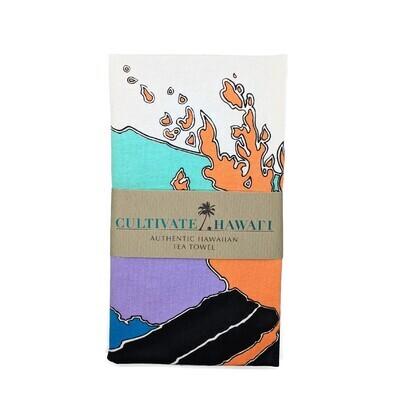 Tea Towel, Cultivate Hawaii - Pele