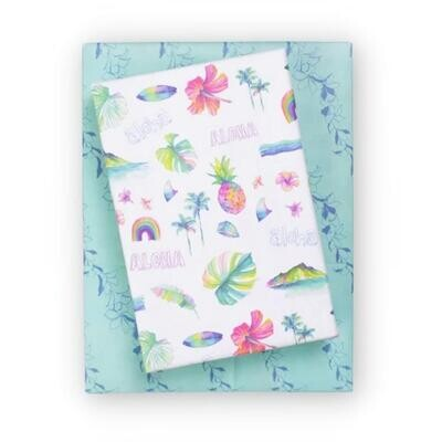 Wrappily, Aloha Fun Wrapping Paper