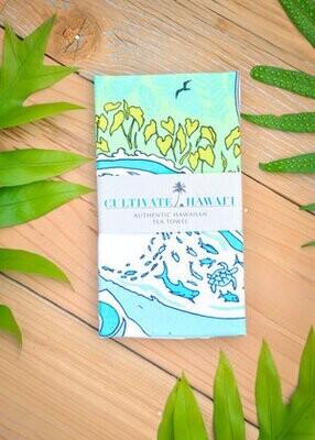 Tea Towel, Cultivate Hawaii - Moana