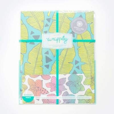 Wrappily, Tropical Leaves by Jana Lam Wrapping Paper