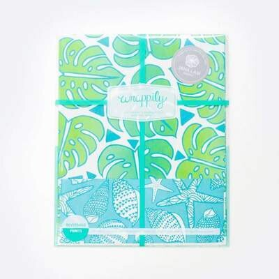 Wrappily, Monstera Jungle by Jana Lam Wrapping Paper