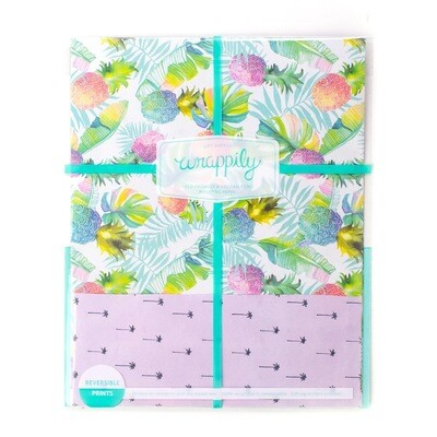 Wrappily, Pineapple Splash Wrapping Paper