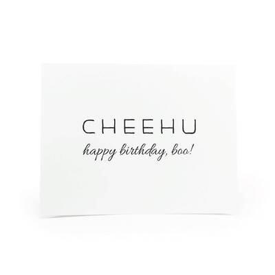 Card, Birthday - Cheehu (Localicreative)