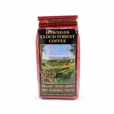 Certified Organic Hamakua Hawaiian Cloud Forest Coffee, 8 oz (Medium) | Big Island