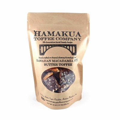 Macadamia Nut Toffee