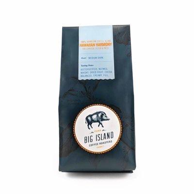 Big Island Coffee Roasters Hawaiian Harmony Espresso Blend Coffee, 7 oz (Med/Dark) | Hawaiian Blend
