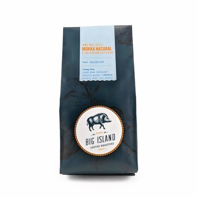 Big Island Coffee Roasters Mokka Natural Coffee, 7 oz (Medium) | Maui