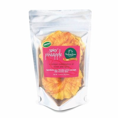 Dried Spicy Pineapple Rings