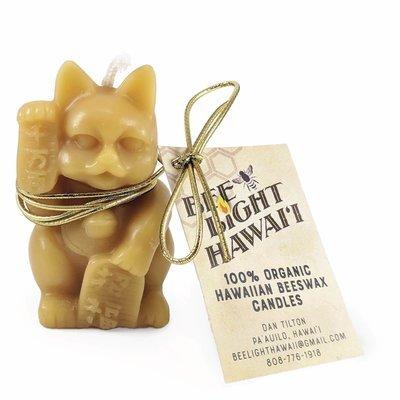 Bees Wax Candle, Maneki Neko