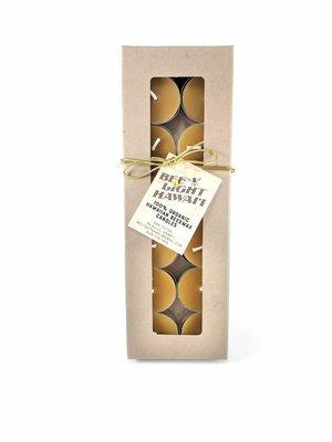 Bees Wax Candle, Tealight Gift Box (x12)