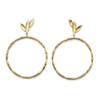 Bamboo Hoops Large