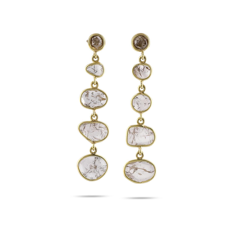 5 Diamond River Earrings