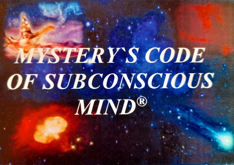 Metaphoric associative cards «Portable Mystery's code of subconscious mind»