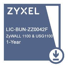 LIC-BUN,  1 YR Content Filtering/Anti-Spam/Anti-Virus Bitdefender Signature/IDP License for ZyWALL 1100 & USG1100