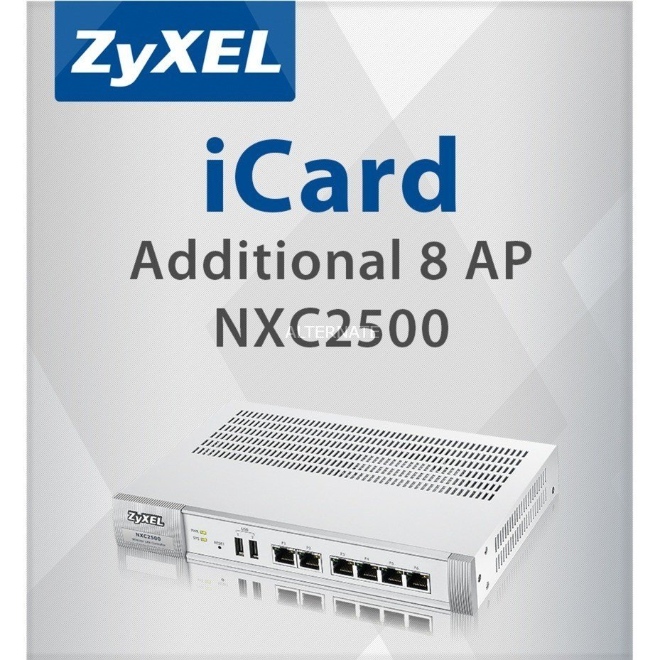 ZyXEL E-ICARD 8 AP NXC2500 LICENSE for Unified/Unified PRO and NWA5000 Series AP