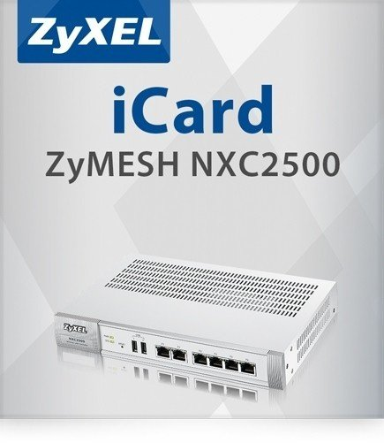 ZyXEL E-ICARD to enable ZyMesh function on NXC2500