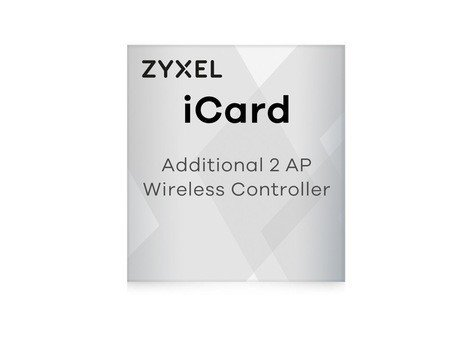 ZyXEL Licence for ZyWALL Firewall ApplianceLIC-EAP,E-iCard 2 AP license for Unified Security Gateway and VPN Firewall (all UAG/USG/ZyWALL products with AP Controller functions)