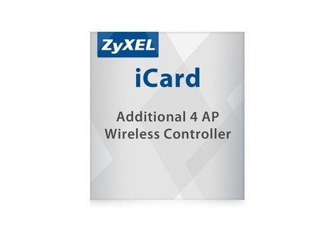ZyXEL Licence for ZyWALL Firewall ApplianceLIC-EAP,E-iCard 4 AP license for Unified Security Gateway and VPN Firewall (all UAG/USG/ZyWALL products with AP Controller functions)