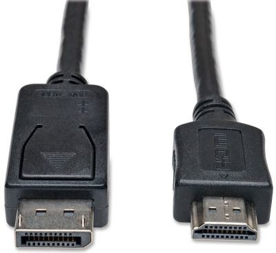 Display Port 1.2 (mannetje) naar HDMI Type A (mannetje)