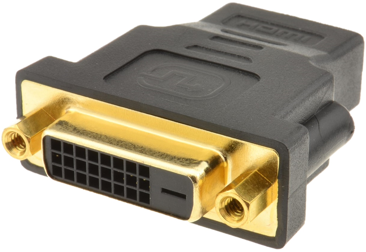 HDMI Adapter Type A (vrouwtje) naar DVI-D (vrouwtje) Single Link