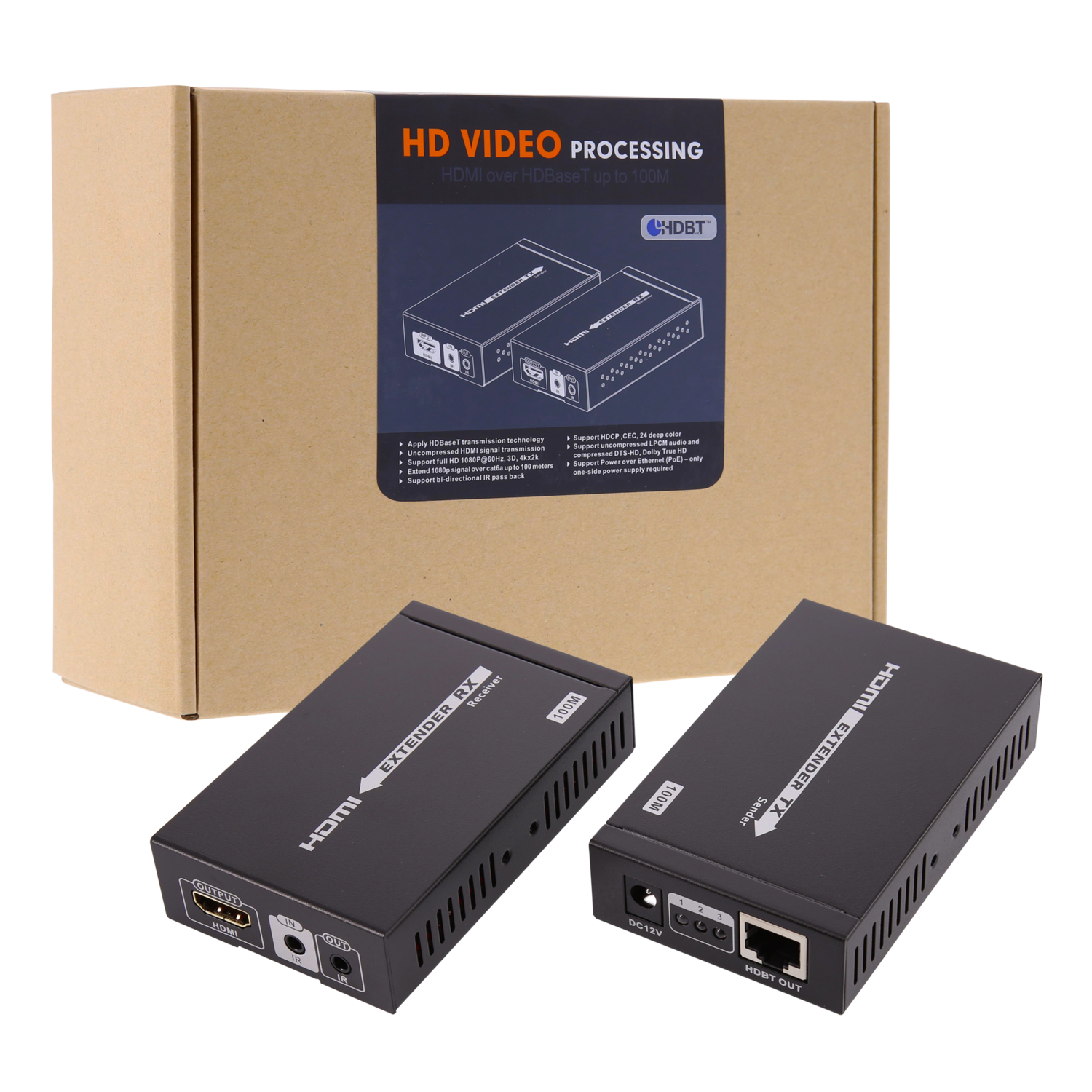 HDMI Extender Amplifier over UTP tot 100M