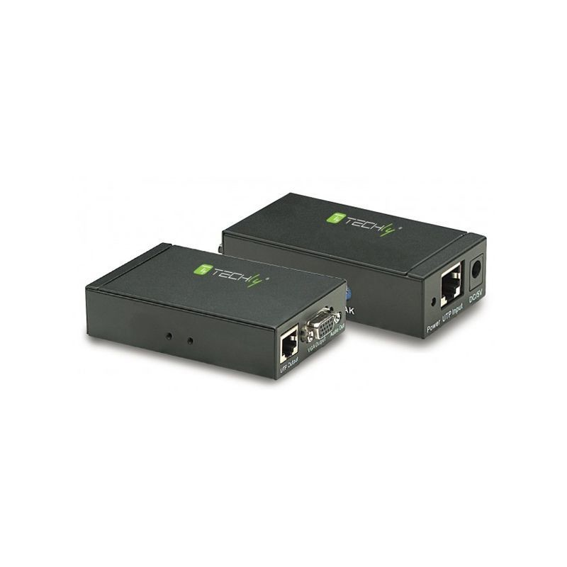 VGA Amplifier Extender over UTP met Audio